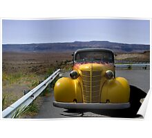 1938 Chevrolet Sedan Hot Rod Poster