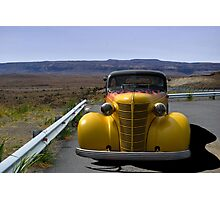 1938 Chevrolet Sedan Hot Rod Photographic Print