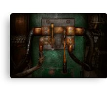 Steampunk - Electrical - Pull the switch  Canvas Print