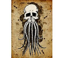 Skull octopus/davy jones Photographic Print