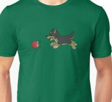 Ornament Chaser- German Shepard Puppy Unisex T-Shirt
