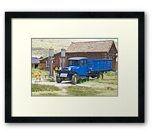 1927 Dodge Flat Bed Truck I Framed Print