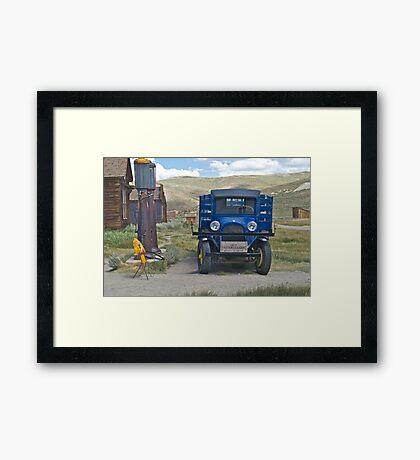 1927 Dodge Flat Bed Truck II Framed Print
