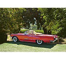 1958 Ford Thunderbird Convertible II Photographic Print