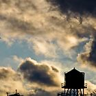 Water tower by AbeCPhotography