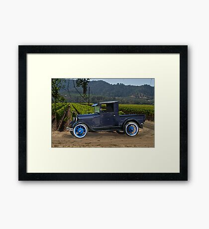 1928 Model A Pick-Up Truck Framed Print