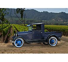 1928 Model A Pick-Up Truck Photographic Print