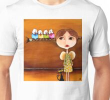 Bird Girl Unisex T-Shirt