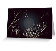 Moon Lovers Greeting Card