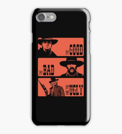 BTTF: The good, the bad and the ugly iPhone Case/Skin