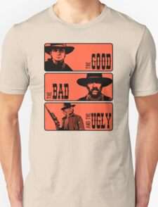 BTTF: The good, the bad and the ugly Unisex T-Shirt