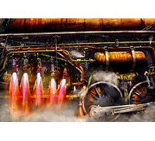 Steampunk - Train - The super express  Photographic Print