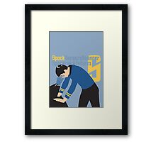 S is for Spock and Scanner Framed Print