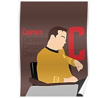 C is for Captain and Corbomite Poster