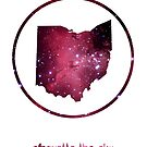 Silhouette the Sky - Beautiful Ohio by sambambina