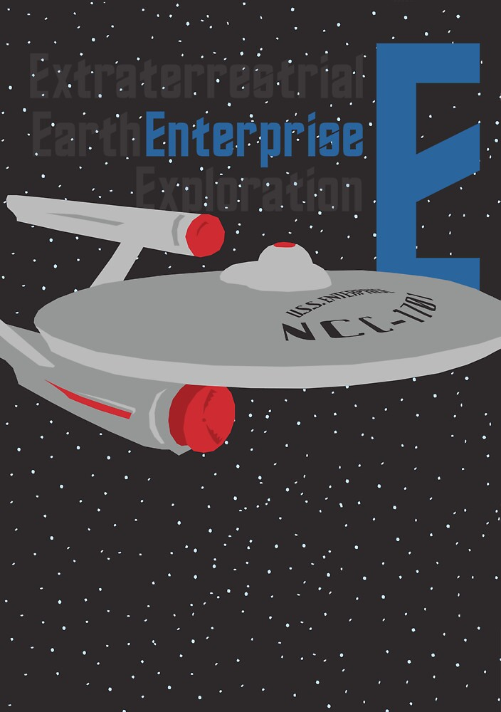 E is for Enterprise and Earth by matterdeep