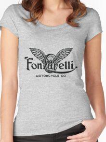 Fonzarelli Motorcycle Co. Women's Fitted Scoop T-Shirt