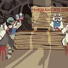 Raccoon Saloon by matterdeep