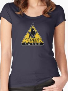Link and the Master Sword Women's Fitted Scoop T-Shirt