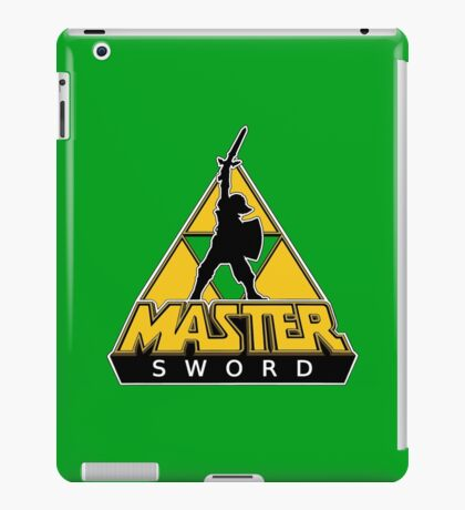 Link and the Master Sword iPad Case/Skin