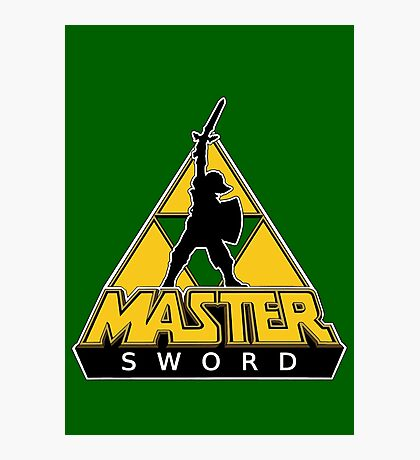 Link and the Master Sword Photographic Print