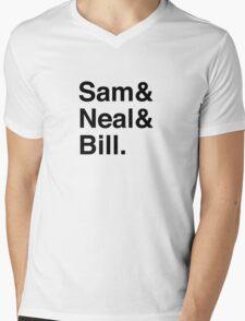 Geeks Mens V-Neck T-Shirt