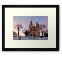 Twilight's Majesty Framed Print