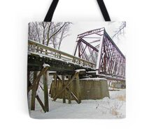 Rusty Snow Tote Bag