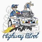 highway patrol by Frank Bondin