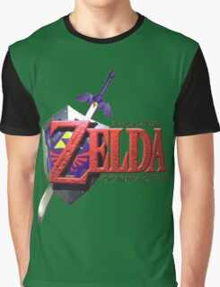 Legend Of Zelda Ocarina Of Time Graphic T-Shirt