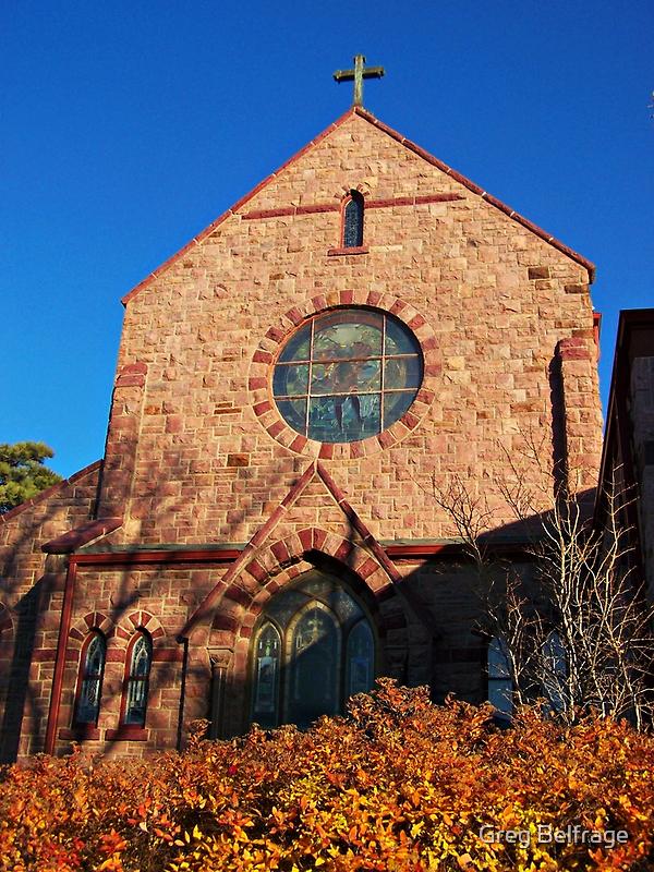Church of St. Augusta by Greg Belfrage