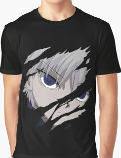hunter x hunter killua assassin anime manga shirt Graphic T-Shirt