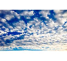 Nothing But Blue Skies Photographic Print