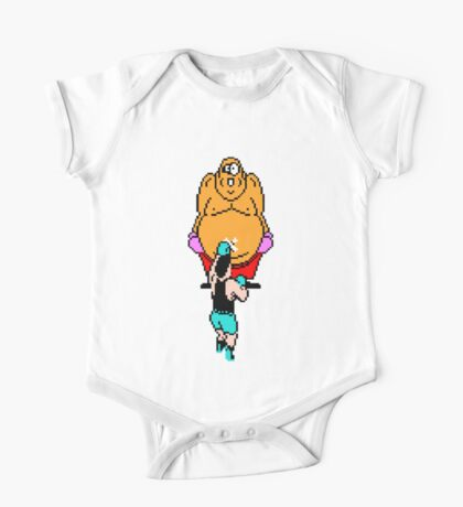 Punch Out King Hippo One Piece - Short Sleeve