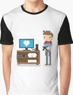 Nerd 4 Life Graphic T-Shirt