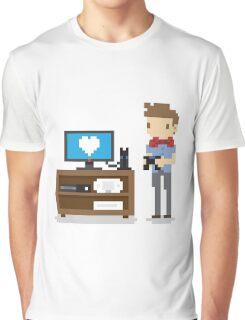 Nerd 4 Life Graphic T-Shirt