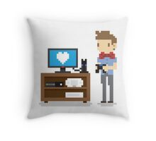 Nerd 4 Life Throw Pillow