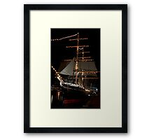 ALL DECKED OUT Framed Print