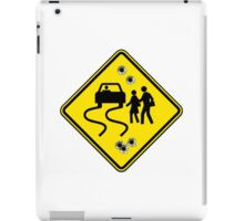 Swerve Ahead - White iPad Case iPad Case/Skin