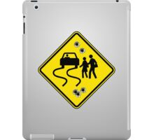 Swerve Ahead - Gray iPad Case iPad Case/Skin
