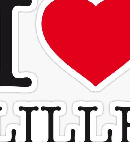I ♥ LILLE Sticker