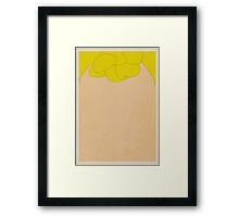 Sally Brown Framed Print