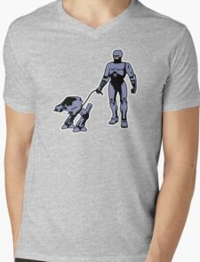 Robocop Mens V-Neck T-Shirt