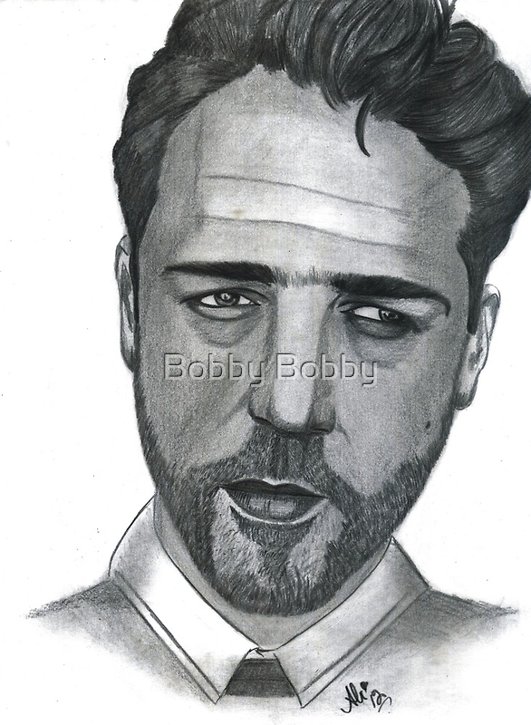 Russell Crowe by Bobby Dar