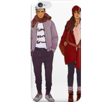 winter fashions iPhone Case/Skin