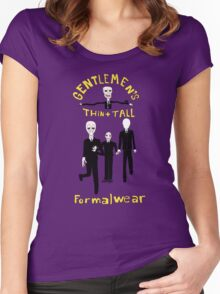 Gentlemen's Thin and Tall Women's Fitted Scoop T-Shirt