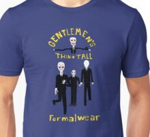Gentlemen's Thin and Tall Unisex T-Shirt