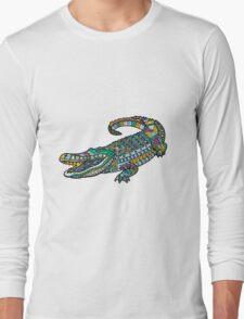 ornate crocodile Long Sleeve T-Shirt