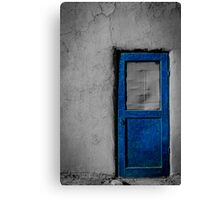 Pueblo Door 1 Canvas Print
