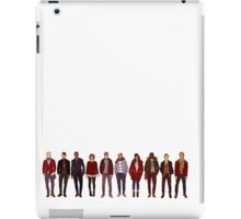 winter fashions iPad Case/Skin